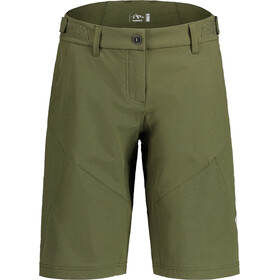 Maloja FingerkrautM. Pantaloncini Multisport Donna, verde oliva